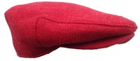 Christmas Red Scottish Tweed Scally Cap – Made in America
