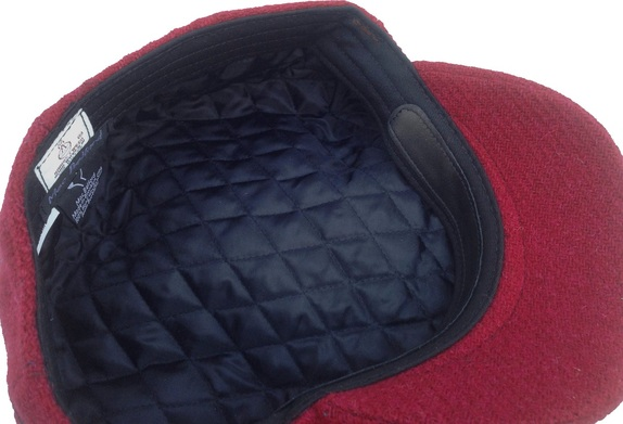 Cabernet Red Tweed Scally Cap- Made in USA   That Way Hat. New 6c7c6226eb2d