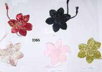 Velvet Blossom With Pin For Handbags And Dresses