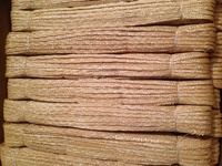 "1/4"" Milan Braid - Scandi Wheat Straw Braid 6.25mm wide Bundle"