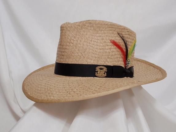 Natural Panama Fedora Size 6 7 8   That Way Hat. New 2725e03ac11