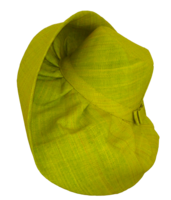 Lime Green Raffia Sun Hat
