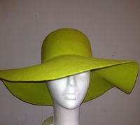Green Felt Hat Body