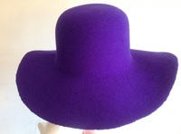 Blue Felt Hat Body