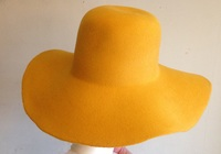 Yellow Gold Felt Hat Body